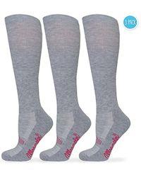 Wrangler - Ladies Western Boot Socks 3 Pair Pack - Lyst