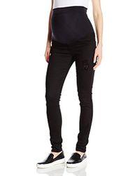 James Jeans - Twiggy External Maternity Band Legging Jean In Flat - Lyst