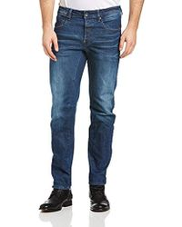 G-Star RAW - G-star A-crotch Tapered Jeans - Lyst