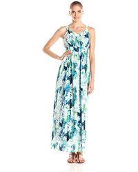 Marc New York - Sleeveless Monet Floral Maxi Dress - Lyst