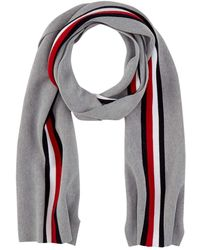 Tommy Hilfiger Corporate Pima Cotton Scarf Echarpe - Gris