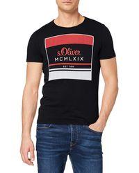 S.oliver 13.001.32.4522 T-Shirt - Schwarz