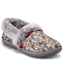 Skechers Womens Slipper - Grigio