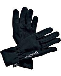 Regatta X-ert Softshell Gloves Black