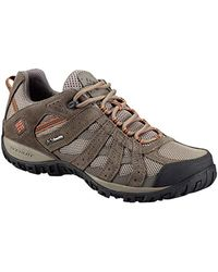 Columbia Redmond Waterproof Low Rise Hiking Shoes - Brown