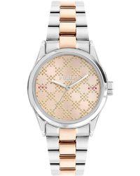 Furla Orologio Analogico Quarzo Donna con Cinturino in Acciaio Inox R4253101520 - Metallizzato