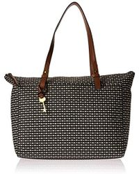 Fossil - Rachel Top Zip Tote Bag - Lyst