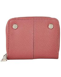 Steve Madden French Indexer Wallet Dusty Rose One Size - Multicolore