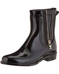 Tommy Hilfiger Odette 12v3 Mid Calf Boot - Black