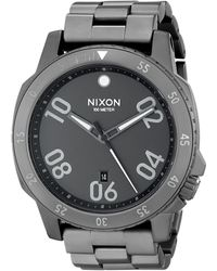 Nixon 51-30 Chrono Underwater Stainless Steel Watch (51mm. Stainless Steel Band) - Multicolour