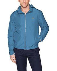 Lacoste Taffeta Light Coat, Bh6121 - Blue