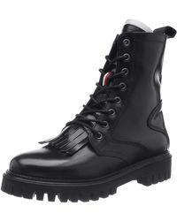 Tommy Hilfiger Iconic Polished 's Ankle Boots - Black