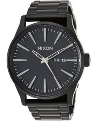 Nixon Sentry Ss A356001-00. All Black 's Watch