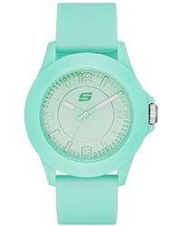 Skechers SR6027 Analog Display Quartz Blue Watch - Blau