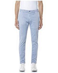 Replay Zeumar Jeans Slim - Blu