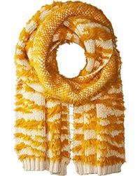 BCBGMAXAZRIA - Textured Animal Knit Muffler - Lyst