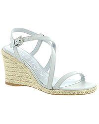 fe525dd208a Lyst - Calvin Klein Bellemine Espadrille Wedge Sandal - Save 15%
