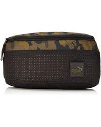 PUMA - Adult Surface Waist Pack Camo Os - Lyst