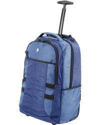 Victorinox Vx Sport Wheeled Cadet Backpack With Pass Thru Sleeve - Blue