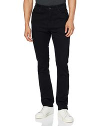 FIND Jeans Skinny con Elastici - Nero
