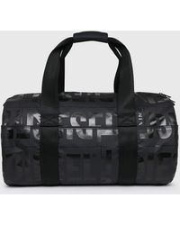 DIESEL Boldmessage X-bold Duffle Travel Bag - Black