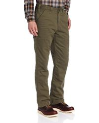 Carhartt - Washed Twill Dungaree Flannel Lined - Lyst