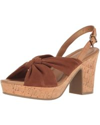 Kenneth Cole Reaction Tole Booth Heeled Sandal - Brown