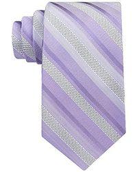 Calvin Klein - Pearlized Stripe Tie - Lyst