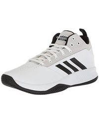 cc63c987bd1 Lyst - adidas Cloudfoam Ilation Mid .5 Blue Basketball Shoe in Blue ...