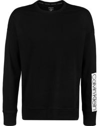 Calvin Klein L/s Sweatshirt Ropa Interior técnica - Negro