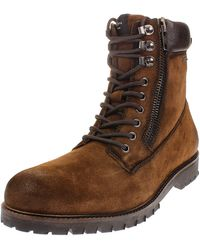 Pepe Jeans London Melting Woodland Desert Boots - Brown