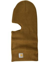 Carhartt Knit Insulated Face Mask - Black