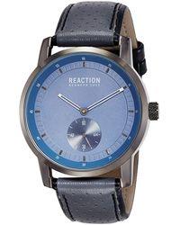 Kenneth Cole Reaction RK50084003 Montre Bracelet pour Bleu et Argent - Multicolore