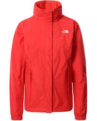 The North Face Giacca Donna Resolve - Rosso