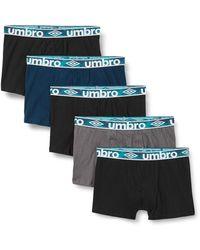 Umbro Boxer Umb/1/bcx5 Shorts - Black