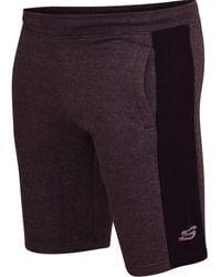 Skechers Kacey Short Xl Charcoal - Purple