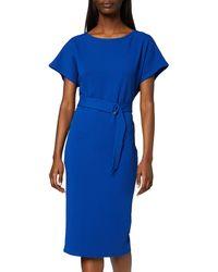 Dorothy Perkins Cobalt D-ring Midi Dress - Blue