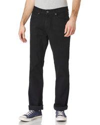 Wrangler S Bootcut Jeans - Schwarz