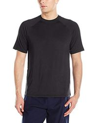 Izod - Sueded Jersey Flame Heather Shirt - Lyst