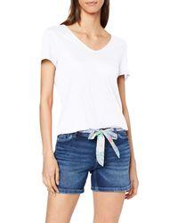 Esprit 069ee1k009 T-Shirt - Blanc