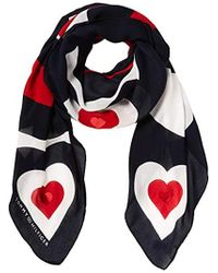Tommy Hilfiger - Mascot Heart Square Neckerchief, Blue (corporate 901), One (size: Os) - Lyst