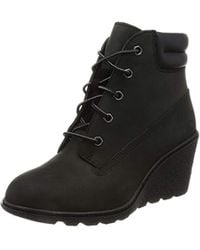 """Timberland Amston 6"""" Ankle Boots - Black"""