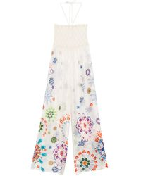 Desigual Pant_Fiji Strandkleid - Mehrfarbig