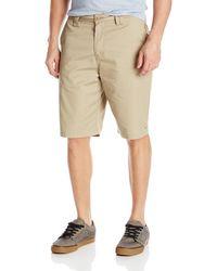O'neill Sportswear Flat Front Shorts - Natural