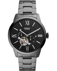 Fossil - Townsman Auto Automatic Watch With Stainless Steel Strap - Lyst