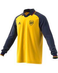adidas T-shirt Manches Longues Arsenal Icon - Yellow