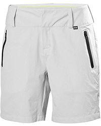 Helly Hansen 's W Crewline Shorts - Grey