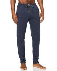 Esprit Audin Nw Long Trousers Pyjama Bottoms - Blue