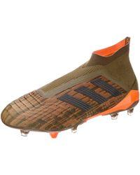 adidas Predator 18+ Firm Ground - Vert