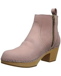 330528976147 Swedish Hasbeens - Zip It Emy Ankle Boot - Lyst